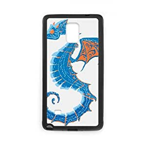 Samsung Galaxy Note 4 Cell Phone Case Black_DRAGONHORSE TR2338243