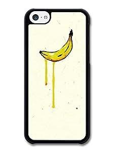 MMZ DIY PHONE CASEAMAF ? Accessories Banana Warhol Inspired Original Art Illustration case for iphone 6 4.7 inch