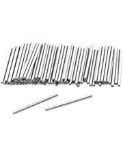 uxcell a12042300ux0533 100 Pcs Stainless Steel 1mm x 15.8mm Dowel Pins Fasten Elements Stainless Steel (Pack of 100)