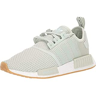 adidas Originals mens Nmd_r1 Running Shoe, Linen Green/Linen Green/Ice Mint, 13.5 US