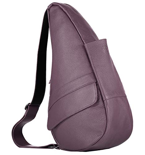 AmeriBag Classic Healthy Back Bag tote Leather Small (Plum)