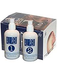 ALL hd PLEX bond treatment up to 80 application Kit for Bleaching, Coloring, Perm and Relaxer application protection for All Hair Types, up to 80 Application Large Kit