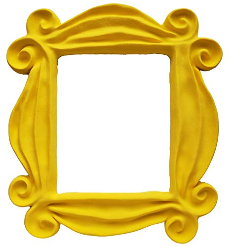 Yellow Friends Tv Show Merchandise Frame Peephole Door Frame Resin Handmade
