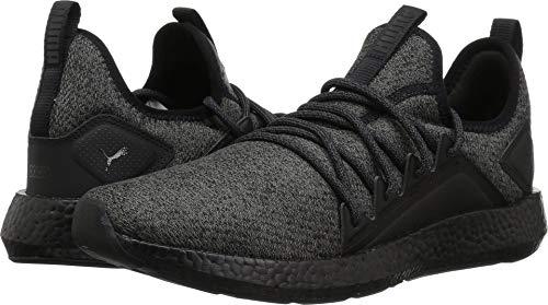 PUMA Men's NRGY Neko Knit Sneaker, Black, 7 M US