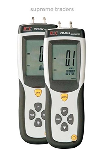 HTC Instrument PM-6205 Digital Manometer 5 PSI with USB Computer Interface by Supreme Traders Supertronics1989 Price & Reviews