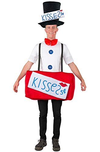 Princess Paradise Adult Kissing Booth Halloween Costume