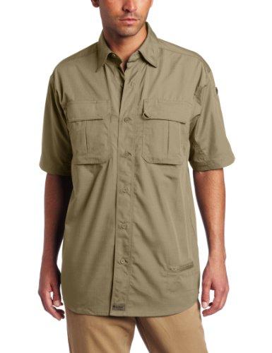Blackhawk Warrior Wear - BLACKHAWK! Men's Short Sleeve Lightweight Tactical Shirt (Khaki, Medium)