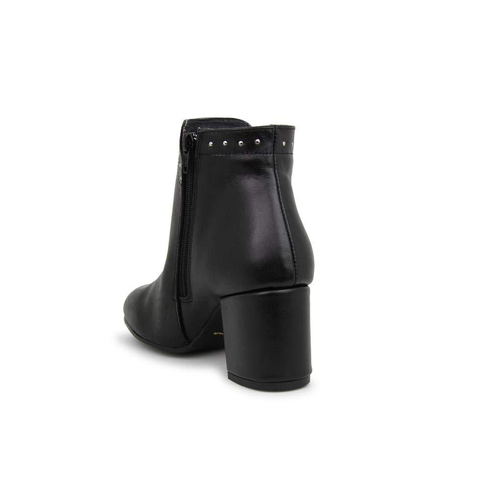 Cayetano Gimenez - Botín de de de Piel en Color Negro para: Mujer 4b1d98
