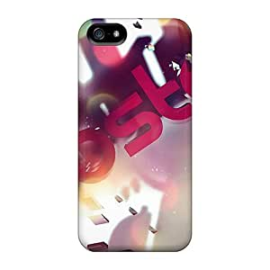 Obamacase Case Cover Protector Specially Made For Iphone 5/5s 3d Dubstep Logo
