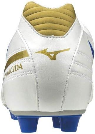 モナルシーダ JAPAN ホワイト×ブルー サッカースパイク P1GA192119