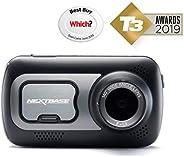 "Nextbase 522GW Dash Cam 3"" HD 1440p Touch Screen Car Dashboard Camera, Amazon Alexa, WiFi, GPS, Emergency"