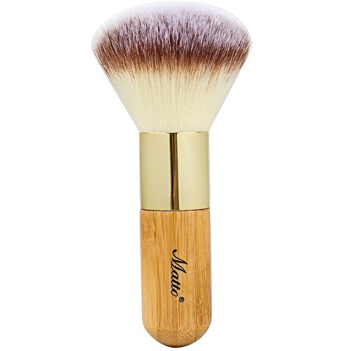 Mineral Kabuki Brush - Large Coverage Powder Mineral Foundation Makeup Brush 1 Piece ()