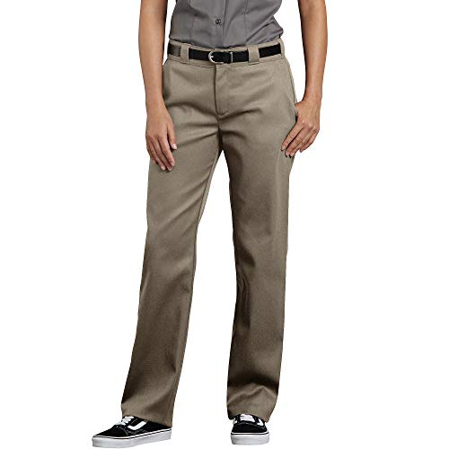 Dickies Women's Flex Original Fit Work Pants, Desert Sand, 12 ()