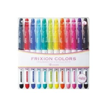 Amazon.com : Pilot Frixion Colors 12C SFC-120M12C (japan