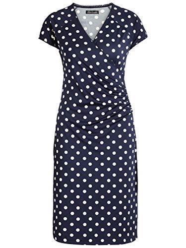 King Ink Louie Kleid Dress Blue Ink Blue Partypolka Cross Zapwr7Zq