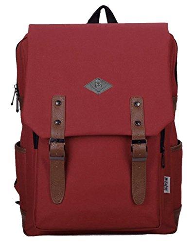 Drasawee - Bolso mochila  para mujer amarillo amarillo 30*12*39cm red