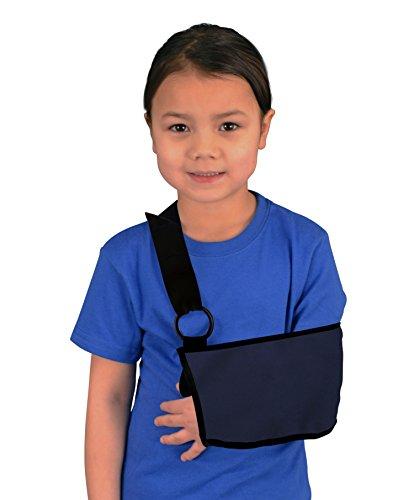 Kids Shoulder and Arm Sling - Blue