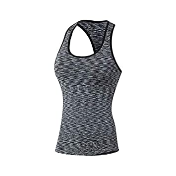 SGYHPL Deporte Mujeres Ejercicio Fitness Yoga Camisetas Sin ...
