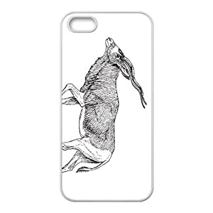 Tibetan Antelope Hight Quality Plastic Case for Iphone 5s