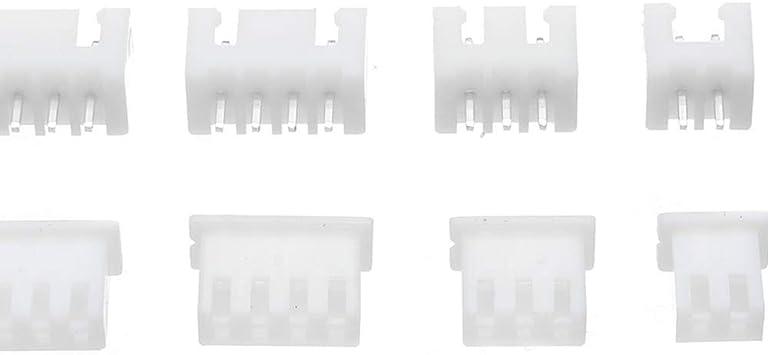 CT07 Stock de Conector de Cabeza de Caja de terminales de Paso de 2/3/4/5 Pines de 2,54 mm. Existencias de electrónica de Terminal XH: Amazon.es: Electrónica