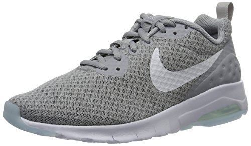 Nike Men's Air Max Motion Low Cross Trainer, Wolf Grey/White, 10.5 Regular US