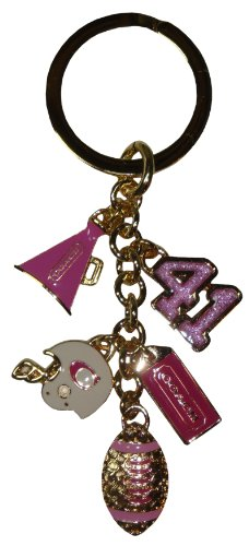 Coach Football Cheerleader Mix Key Chain Fob