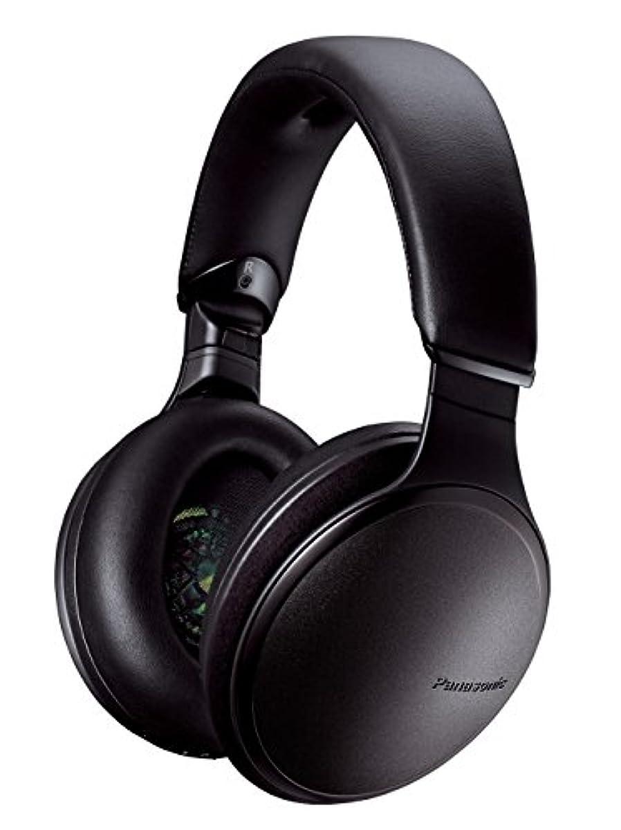 [해외] 파나소닉 밀폐형 헤드폰 wireless 하이레조음원 대응 노이즈캔슬링 블랙 RP-HD600N-K