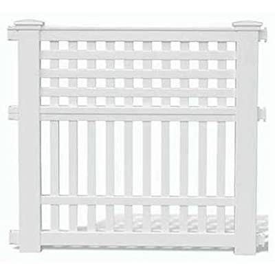 Suncast GVF3232 Grand View One-Section Fence (36 x 32-Inch)