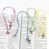 Ornate Cross Ribbon Bookmarks (1 Dozen)