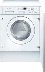 Bosch Exxcel WVTI2841EE Independiente Carga frontal C Blanco lavadora - Lavadora-secadora (Carga frontal, Independiente, Blanco, Izquierda, Botones, Giratorio, LED)