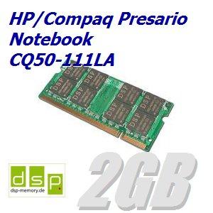 Memoria RAM de 2 GB para ordenador portátil HP/Compaq Presario CQ50 - 111la: Amazon.es: Informática