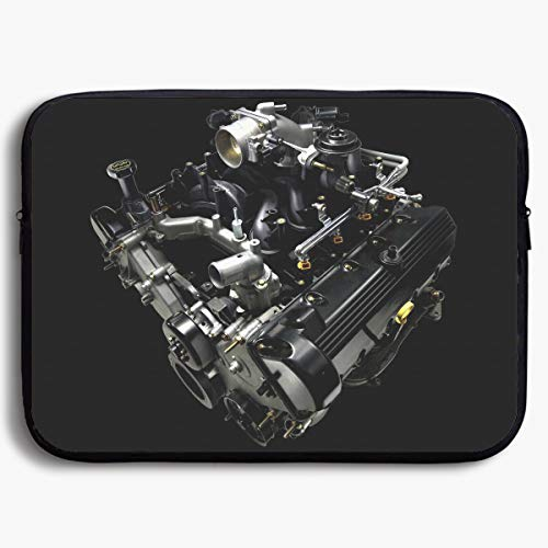 Homlife Laptop Sleeve Bag Cool Engine Awesome Car Engine 13/15 Inch Briefcase Sleeve Bags Cover Notebook Case Waterproof Portable Messenger ()