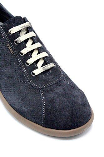 Col FRAU 27A2109 blu Sneakers Sughero COD Suede wF4IqFz
