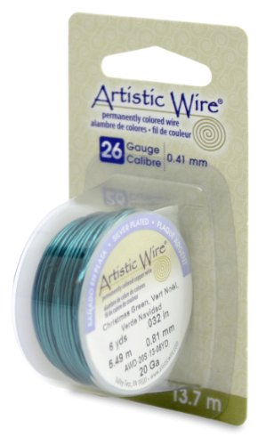 uge Wire, Christmas Green, 15-Yard ()