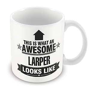 Esto es lo que una fantástica idea de regalo LARPer se ve como taza de trabajo