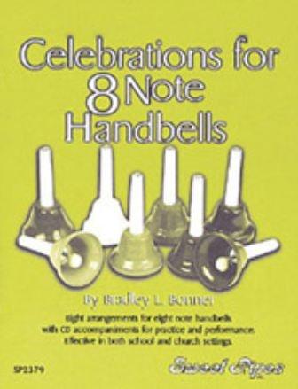 Rhythm Band Instruments SP2379 Celebrations for 8 Note Handbells by Rhythm Band