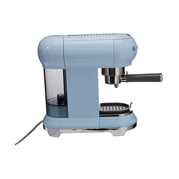 Smeg Espresso Machine Pastel Blue ECF01 PBEU 2