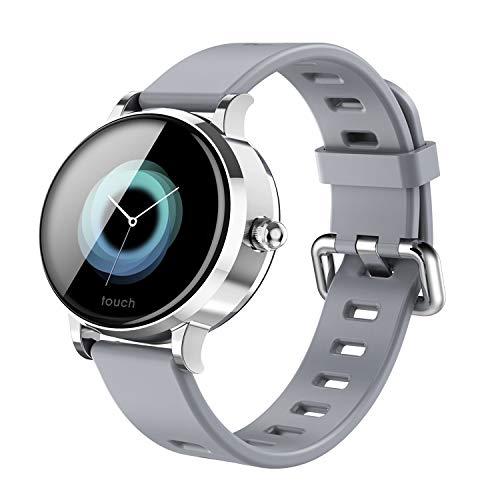 XuBa Sport Color Screen Smart Watch S9 Blood Oxygen Blood Pressure Heart Rate Monitor Smart Bracelet Fitness Tracker Smartwatch Gray