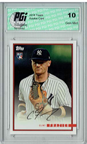 Clint Frazier 2018 Topps Rookie Review #42 1435 Made Rookie Card PGI 10