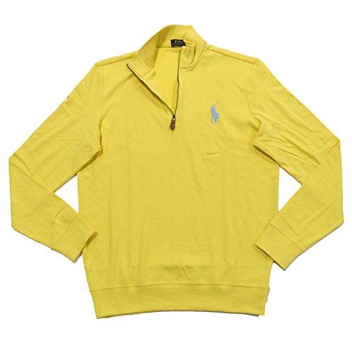 ns Big Pony Half Zip Pullover Sweatshirt (M, Masters Yellow) ()