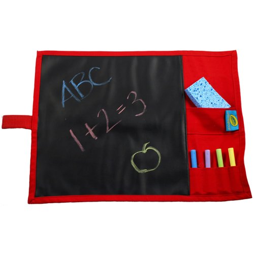 Doodlebugz Crayola Chalkboard Placemat, Green Camouflage (182AB) - Green Velcro Mat