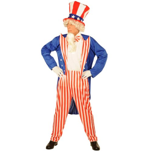 Patriotic Party Uncle Sam Costume