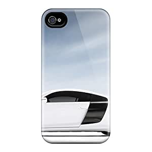 For Iphone Case, High Quality Audi R8 V10 2012 Car For Iphone 5/5s Cover Cases