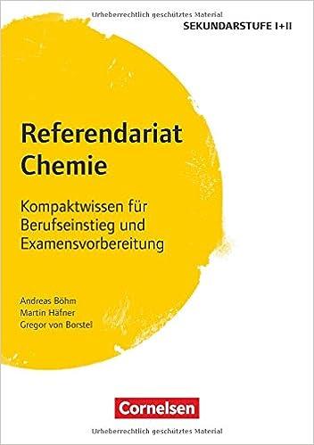 Fachreferendariat Sekundarstufe I Und Ii Referendariat Chemie