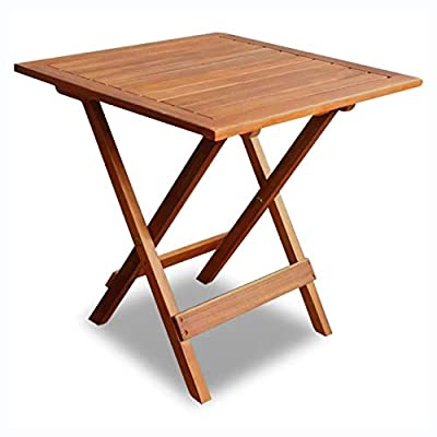 K&A Company Outdoor Tables, Outdoor Coffee Table Acacia Wood