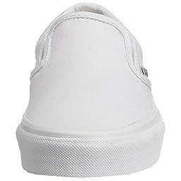 Vans - Mens Classic Slip-On Shoes, True White, 6.5