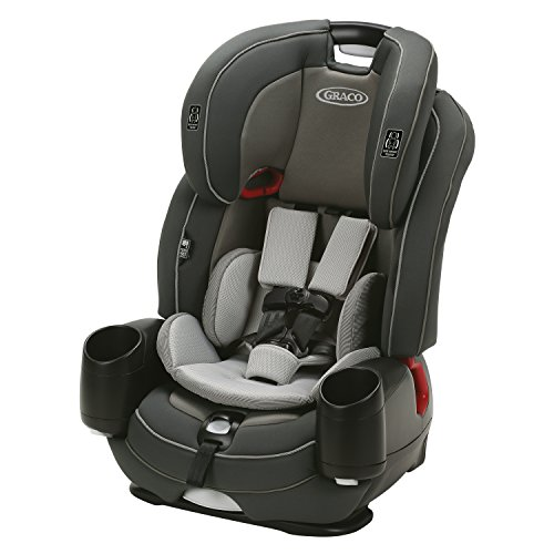 Graco Nautilus SnugLock LX 3-in-1 Harness Booster Car Seat, Cutler