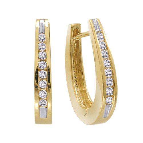 10K Yellow Gold 1/4 ct. Diamond