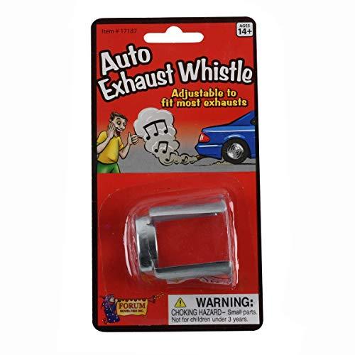 TG,LLC Novelty Prank Car Exhaust Whistle Tail Pipe Sound Funny Joke Auto Muffler Gag
