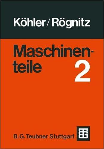Maschinenteile: Teil 2